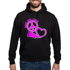Peace, Love & Cheer Hoodie