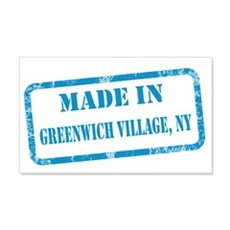 MADE IN GREENWICH VILLAGE 22x14 Wall Peel