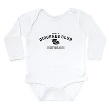 Sherlock Holmes Diogenes Club Long Sleeve Infant B