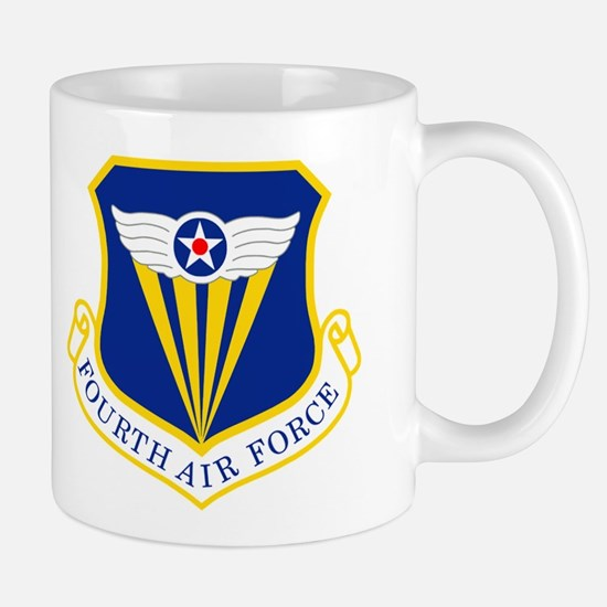4th Air Force<BR> Staff Sergeant Mugs