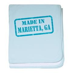 MADE IN MARIETTA, GA baby blanket