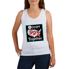 occupy together smile Women's Tank Top