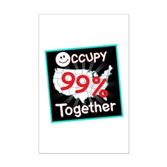 occupy together smile Posters