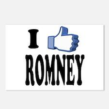 I Like Mitt Romney for President 2012 Postcards (P