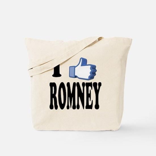 I Like Mitt Romney for President 2012 Tote Bag
