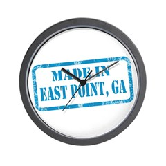 MADE IN EAST POINT, GA Wall Clock