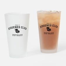 Sherlock Holmes Diogenes Club Drinking Glass