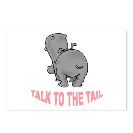 Hippo Talk To The Tail Postcards (Package of 8)
