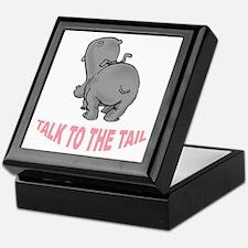 Hippo Talk To The Tail Keepsake Box