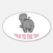 Hippo Talk To The Tail Decal