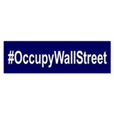 #OccupyWallStreet Bumper Sticker