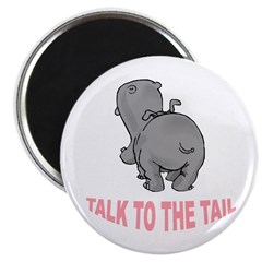 Hippo Talk To The Tail Magnet