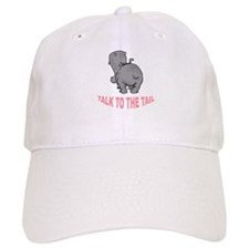 Hippo Talk To The Tail Baseball Cap