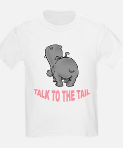 Hippo Talk To The Tail T-Shirt