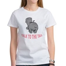 Hippo Talk To The Tail Tee