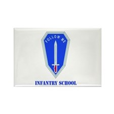 DUI - Infantry Center/School with Text Rectangle M