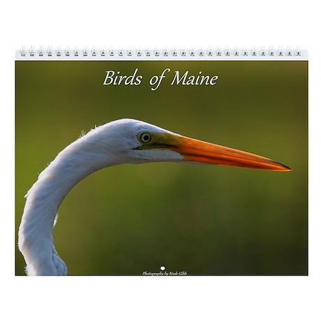Birds of Maine Calendar