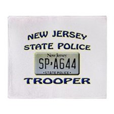 New Jersey State Police Throw Blanket