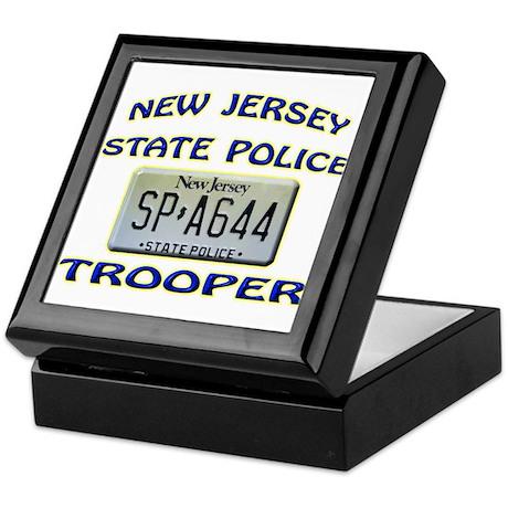 New Jersey State Police Keepsake Box