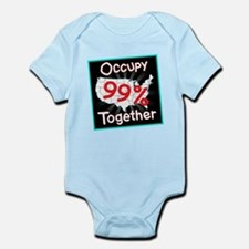 occupy together 99 Infant Bodysuit