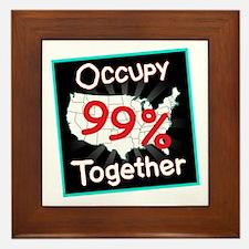 occupy together 99 Framed Tile