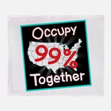 occupy together 99 Throw Blanket