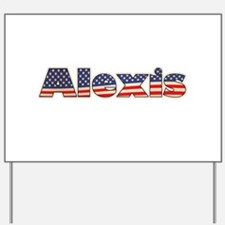 American Alexis Yard Sign