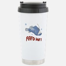 Piranha - Feed Me - Travel Mug