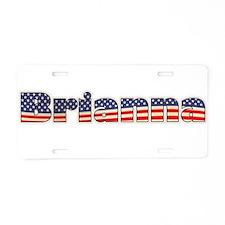 American Brianna Aluminum License Plate