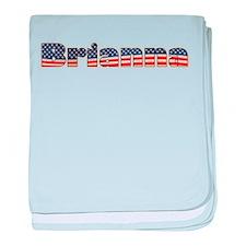 American Brianna baby blanket