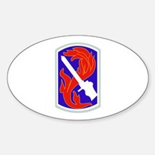SSI-198TH INFANTRY BDE Sticker (Oval)