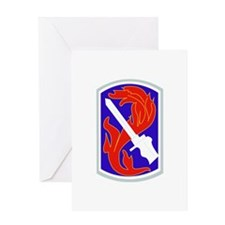 SSI-198TH INFANTRY BDE Greeting Card