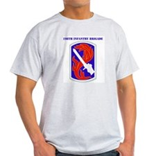 SSI-198TH INFANTRY BDE WITH TEXT T-Shirt