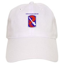 SSI-198TH INFANTRY BDE WITH TEXT Baseball Cap