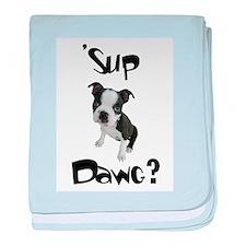 Sup Dawg? baby blanket