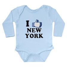 I Love New York Long Sleeve Infant Bodysuit