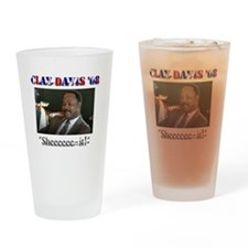 Clay Davis Drinking Glass