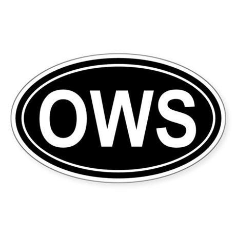 OWS: Sticker (Oval)
