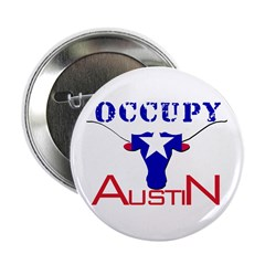 """Occupy Austin 2.25"""" Button (10 pack)"""