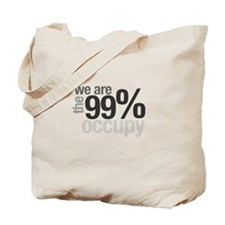 """We are the 99%"" Tote Bag"