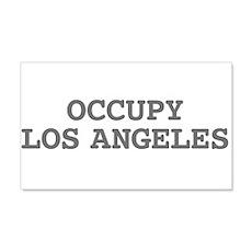 Occupy Los Angeles California 22x14 Wall Peel