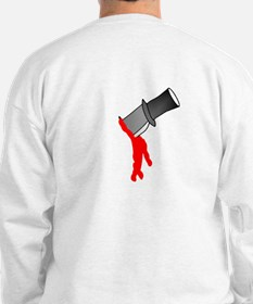 Backstabbed (Knife in Back) Sweatshirt