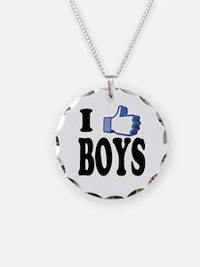 I Like Boys Necklace