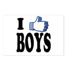 I Like Boys Postcards (Package of 8)
