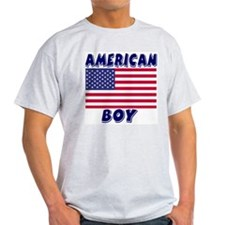 American Boy Ash Grey T-Shirt