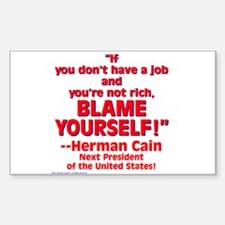 $3.99 Blame Yourself! Decal