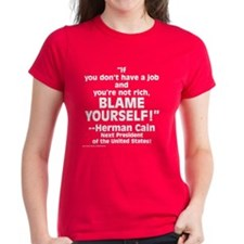 $24.99 Blame Yourself! Tee