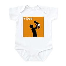 iDad Orange Father & Baby Infant Creeper