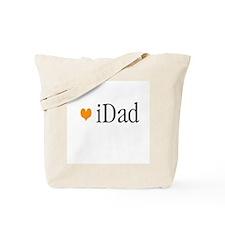 iDad Orange Father & Baby Tote Bag