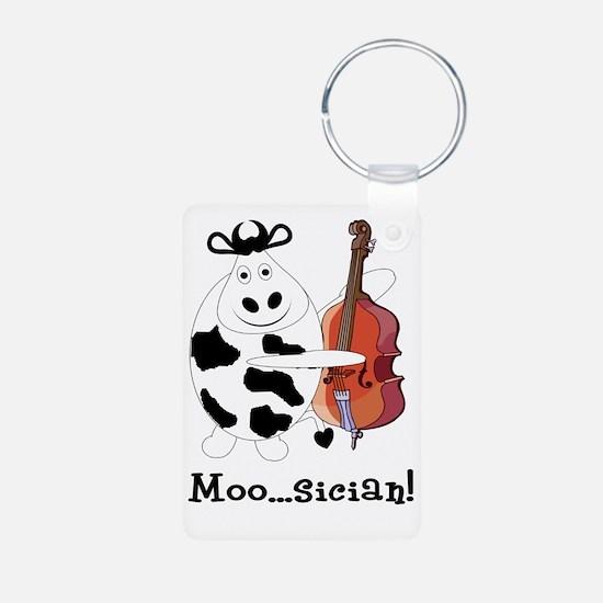 Cow Moo...sician! Keychains